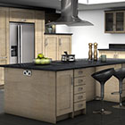 Stylish Kitchen rendered graphics