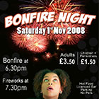 Local Bonfire Night Poster Design